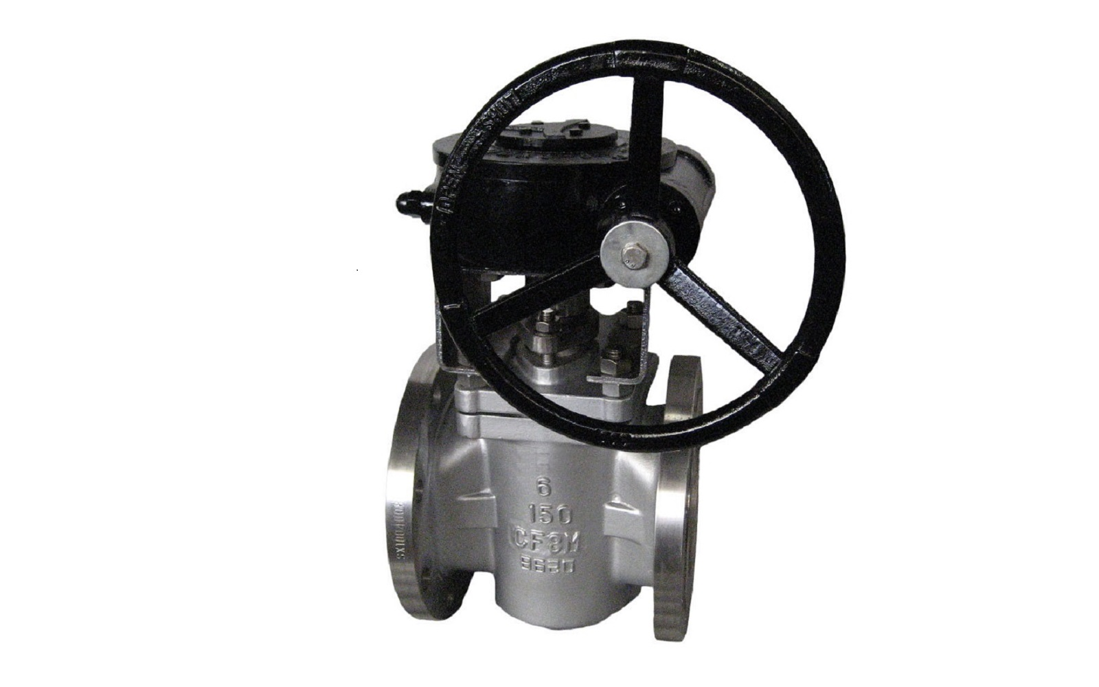 Lubricated Stainless Steel Plug Valve