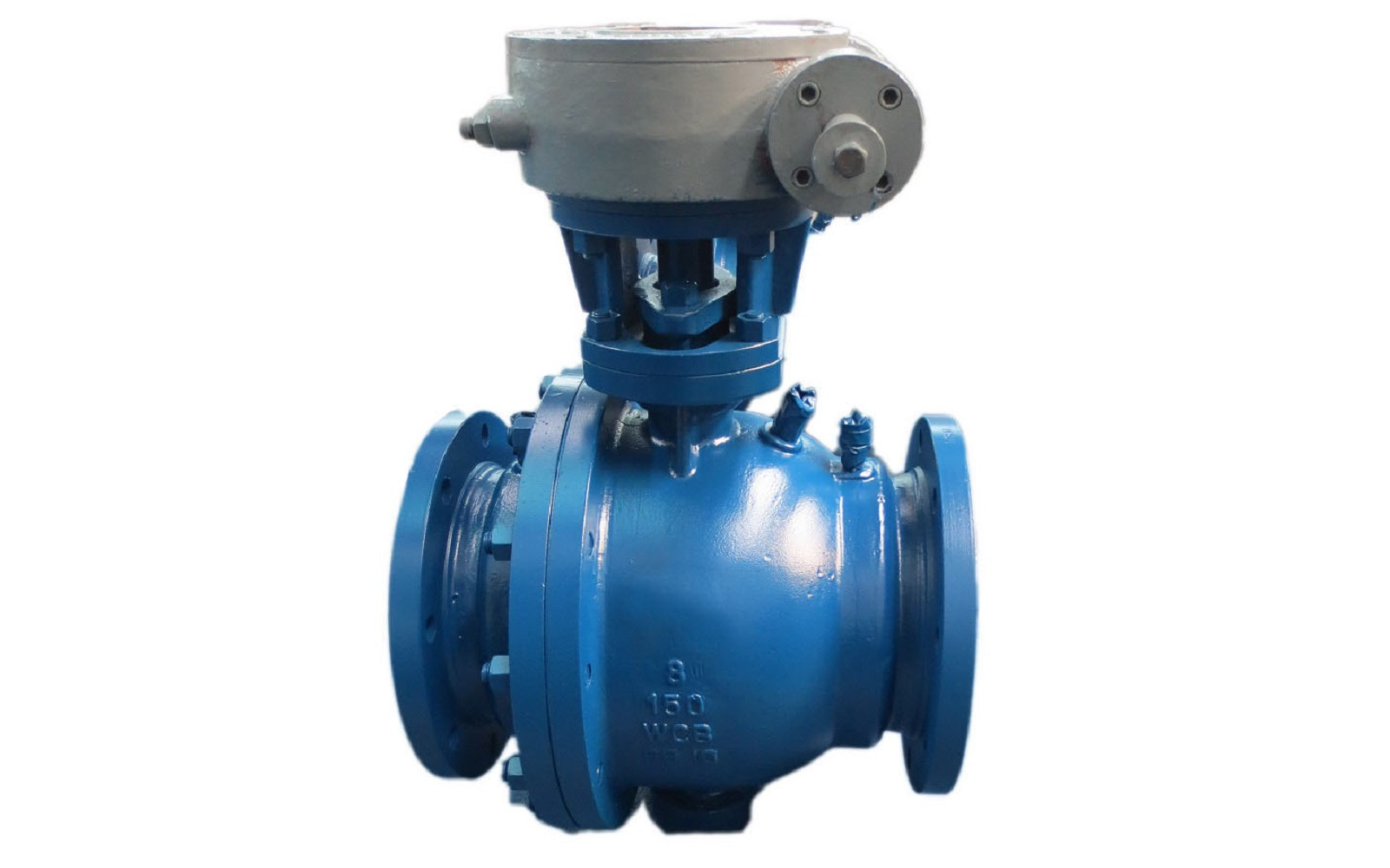 2-Piece Trunnion Cast Ball Valve