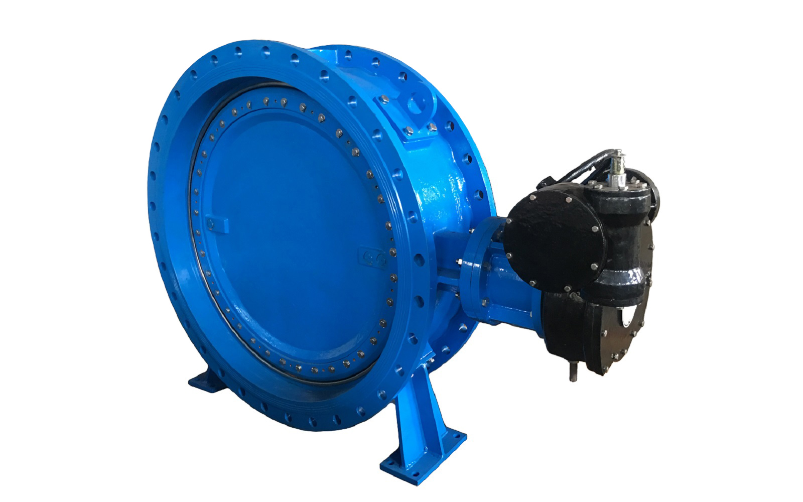 Rubber Seal Eccentric Butterfly Valve