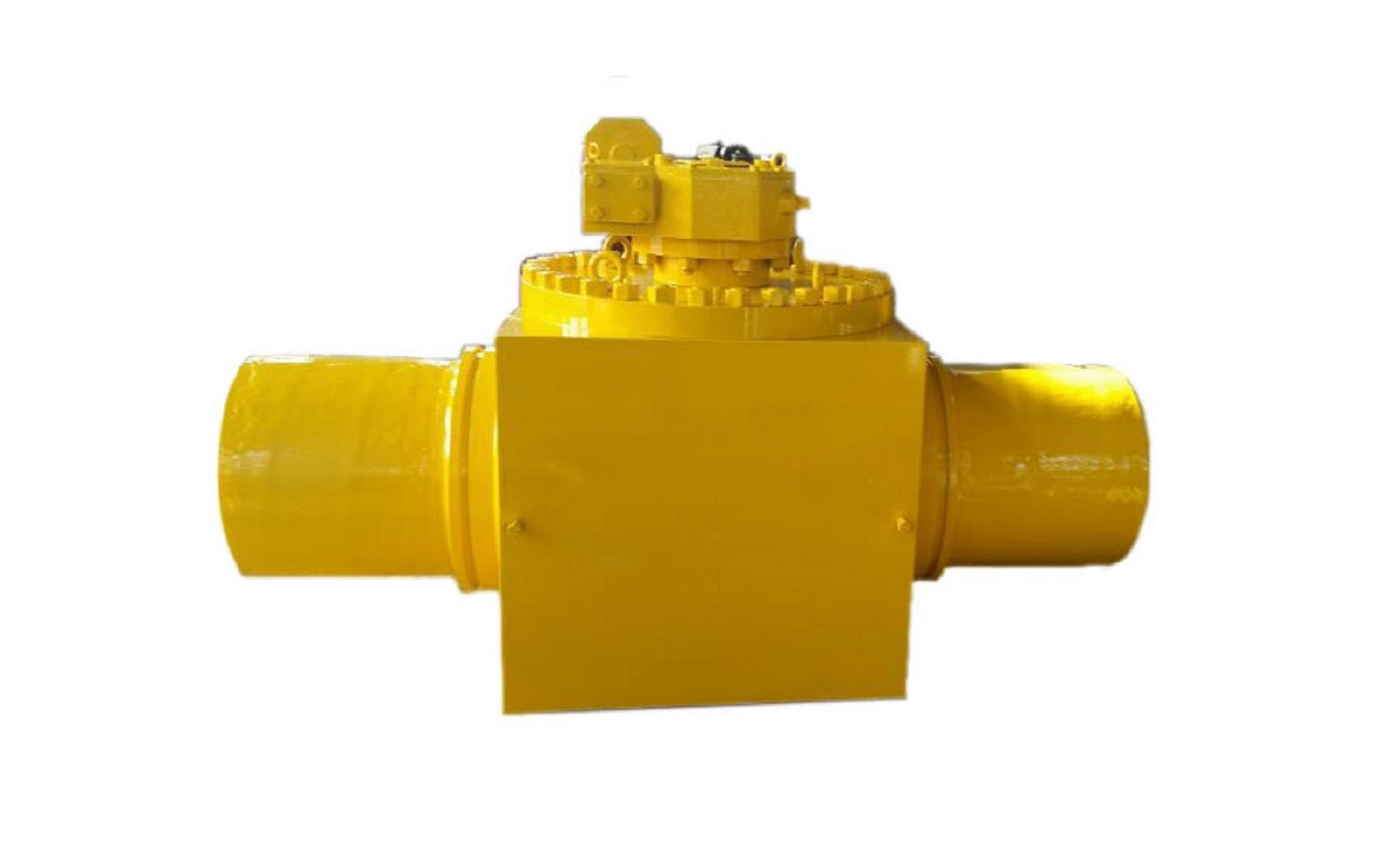 API Top Entry Ball Valve With Welded Extended Tube