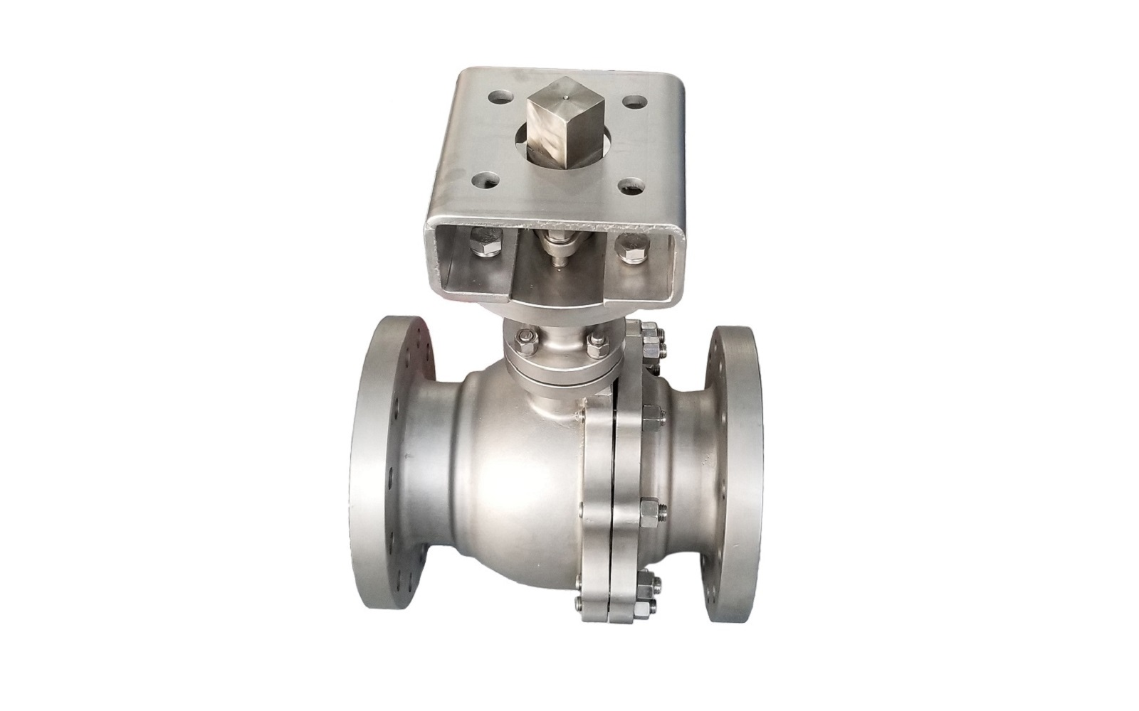 300LB Cryogenic Floating Ball Valve type actuated